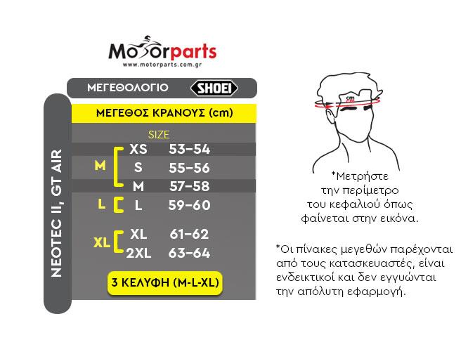 ΜΕΓΕΘΗ NEOTEC GT-AIR